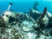 """Du lịch - """"Nghĩa địa"""" máy bay khổng lồ dưới đáy biển ở Nhật"""