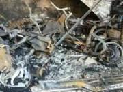 Tin tức Việt Nam - Hải Phòng: 5 người mắc kẹt trong ngôi nhà cháy lớn