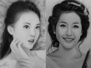 Bạn trẻ - Cuộc sống - Nhan sắc hot girl Việt dưới nét vẽ của họa sỹ 9x