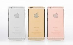 Điện thoại - iPhone 6 đính kim cương, mạ vàng giá trên tỷ đồng