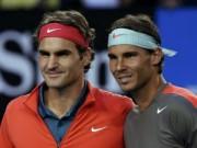 Thể thao - Federer cạnh tranh gắt gao với Nadal trên Facebook