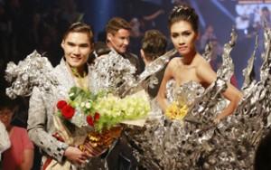 Người mẫu - Hoa hậu - Nguyễn Oanh, Quang Hùng cùng đoạt Quán quân VNTM
