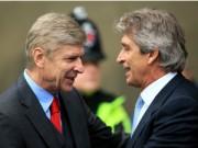 Bóng đá - Wenger không sợ Man City, Pellegrini chẳng lo Arsenal