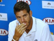 Thể thao - Tin HOT 18/1: Del Potro rút khỏi Australian Open 2015