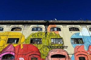 Phi thường - kỳ quặc - Những bức tranh nghệ thuật đường phố đẹp tuyệt vời