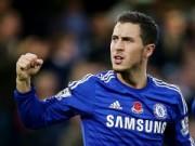 Bóng đá Ngoại hạng Anh - Vượt Silva, Hazard là chân chuyền số 1 NHA