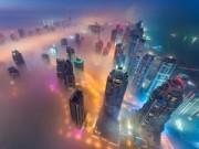 Điểm du lịch - Ngắm bình minh Dubai rực rỡ từ tháp chọc trời
