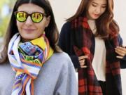 Thời trang bốn mùa - 5 cách quàng khăn giúp bạn thay đổi phong cách