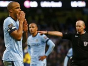 """Bóng đá Ngoại hạng Anh - Man City: Nỗi lo Kompany, nguy cơ vấp """"ổ gà"""""""