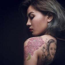 Bạn trẻ - Cuộc sống - Câu chuyện về cô gái 8X xăm hình mẹ trên lưng