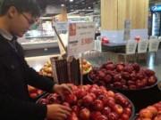 Sức khỏe đời sống - Vụ táo Mỹ nhiễm khuẩn: Đề nghị kiểm soát các cửa khẩu chính