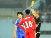 Bóng đá Việt Nam - BTC V-League 2015 lo lắng vì thẻ phạt tăng cao