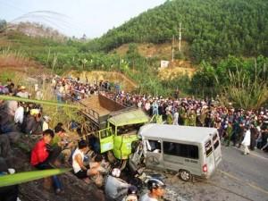Tin tức trong ngày - TNGT 9 người chết: Xe tải đã hết niên hạn sử dụng