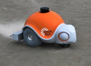 Công nghệ thông tin - Robot vẽ tranh trên cát cực ấn tượng