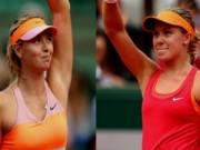 Thể thao - Sharapova gặp Bouchard: Mỹ nhân đại chiến