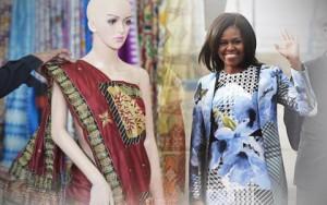 Thời trang bốn mùa - Ấn Độ dự định tặng bà Obama 100 bộ sari dệt từ vàng