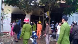 Tin tức Việt Nam - Thanh Hóa: Cháy lớn tại đại lý phân phối gas