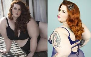 """Thời trang - Người mẫu siêu béo lập kỷ lục về độ """"khổng lồ"""""""