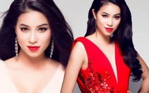 Người mẫu - Hoa hậu - Á hậu Phạm Hương quyến rũ với đầm dạ hội