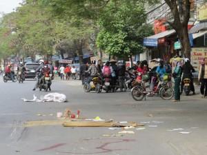 """Tin tức Việt Nam - Xác minh tin """"xe cấp cứu bỏ mặc thai phụ bị tai nạn"""""""