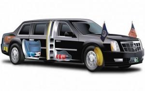 """Ô tô - Xe máy - Khám phá tính năng """"khủng"""" trên siêu xe của Tổng thống Obama"""
