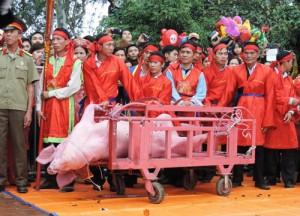 Tin tức trong ngày - Tổ chức Động vật Châu Á đề nghị bỏ Lễ hội Chém lợn