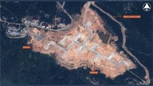 Ảnh vệ tinh tố TQ xây căn cứ quân sự gần Senkaku