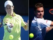 Thể thao - Wawrinka - Nishikori: Bản lĩnh lên tiếng