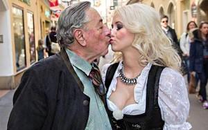 Thời trang - Người mẫu 24 tuổi phủ nhận lấy tỉ phú 82 tuổi vì tiền