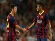 """Bóng đá Tây Ban Nha - Messi-Neymar """"song tấu"""" top 5 bàn đẹp nhất Liga V20"""