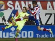 """Video bóng đá hot - Atletico, Barca thi nhau """"chặt chém"""" kinh hoàng"""