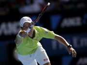 Thể thao - Hot shot: Rally 24 chạm, Nishikori tung vợt đỡ bóng