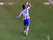 Bóng đá - Ném giày vào trọng tài, SAO Atletico thoát thẻ đỏ