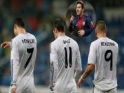 Bóng đá Tây Ban Nha - Messi giỏi hơn cả Ronaldo, Benzema, Bale cộng lại
