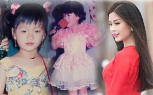 """Thời trang - Lộ ảnh """"xinh từ bé"""" của á hậu Diễm Trang"""