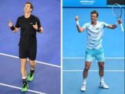 Tennis - Berdych - Murray: Oai hùng vào chung kết