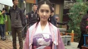 Yoona (SNSD) bị chê với tạo hình cổ trang