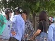 An ninh Xã hội - Lái xe ôm tranh khách, giành địa bàn kiểu côn đồ