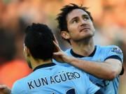 """Bóng đá - Aguero - Lampard trổ tài đá phạt """"dọa"""" Chelsea"""
