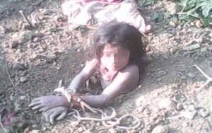 8X + 9X - Sốc: Người cha tự tay đào huyệt chôn sống con gái