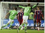 """Bóng đá - Wolfsburg - Bayern: """"Sói xanh"""" bẻ nanh """"Hùm xám"""""""