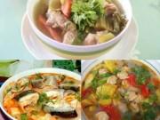 Ẩm thực - Cách nấu canh chua từ ngao, cá, sườn ngon tuyệt trần