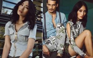 Thời trang - Trang Khiếu đẹp yêu kiều bên đồng nghiệp quốc tế