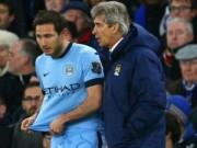 Bóng đá - Pellegrini tiếc nuối, Lampard hạnh phúc ngày về
