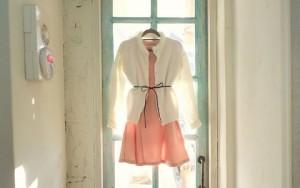 Thời trang bốn mùa - Làm mới váy liền công sở trong nháy mắt