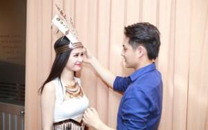 Ca nhạc - MTV - Đông Nhi làm nũng bạn trai tại hậu trường The Remix