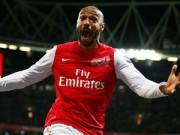 Bóng đá Ngoại hạng Anh - Tin HOT tối 2/2: Henry khóc khi rời Arsenal