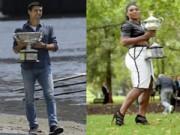 Thể thao - Djokovic bảnh bao, Serena quyến rũ bên cúp vô địch