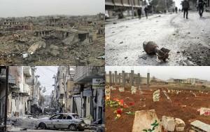"""Tin tức trong ngày - Bên trong """"thành phố chết"""" phiến quân IS vừa tháo chạy"""