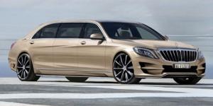 Ô tô - Xe máy - Mercedes-Benz S-Class XXL bọc thép đẹp mê mẩn